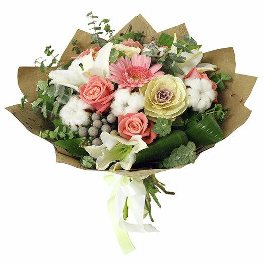 Букет Снежные хлопья: букеты цветов на заказ Flowwow