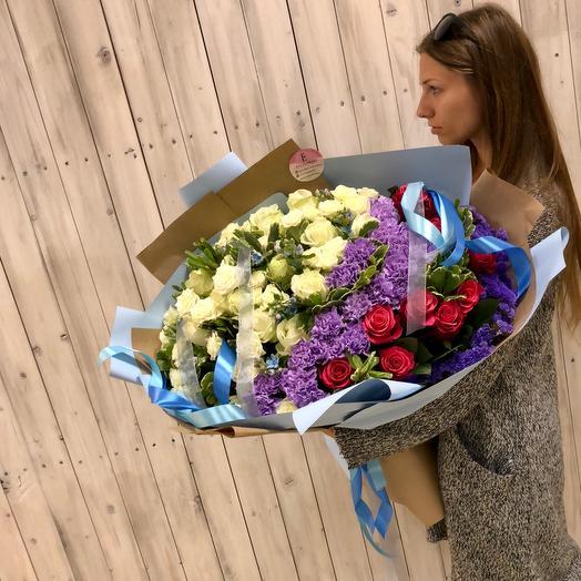 Больше любви,чем цветов: букеты цветов на заказ Flowwow