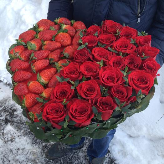 День Святого Валентина: букеты цветов на заказ Flowwow