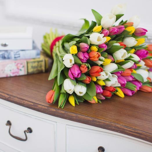 Тюльпан 51: букеты цветов на заказ Flowwow