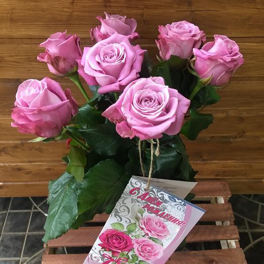 """Букет """"Лиловое сияние"""": букеты цветов на заказ Flowwow"""