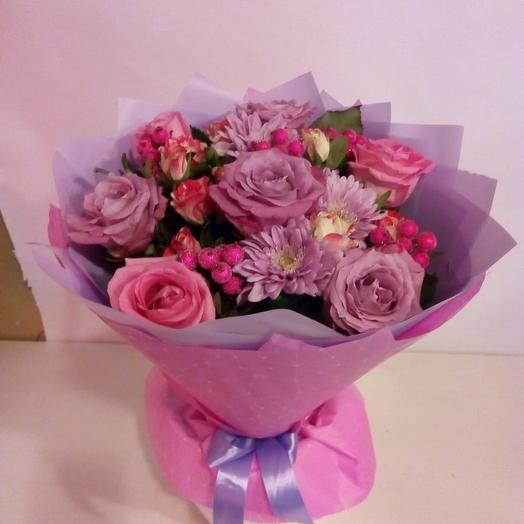 Сиреневый праздник: букеты цветов на заказ Flowwow