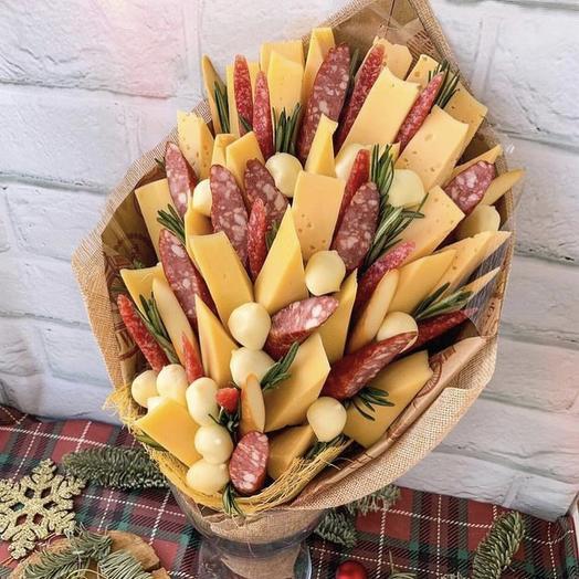 Сырный букет «Chees: букеты цветов на заказ Flowwow