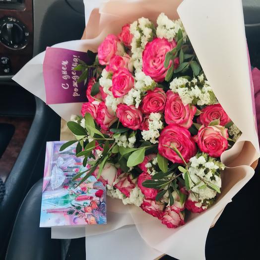 Ми-ми-ми: букеты цветов на заказ Flowwow