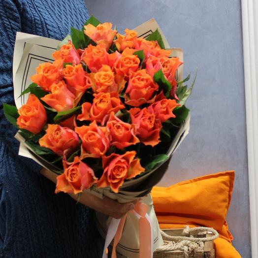 "Букет кенийских роз ""Яркие краски"""