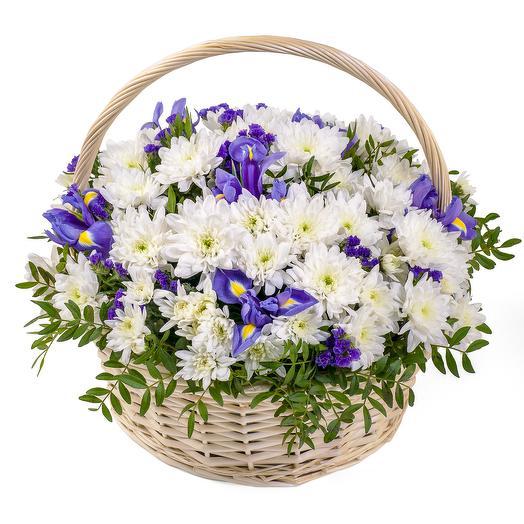 """Цветочная корзина """"Ангел"""": букеты цветов на заказ Flowwow"""