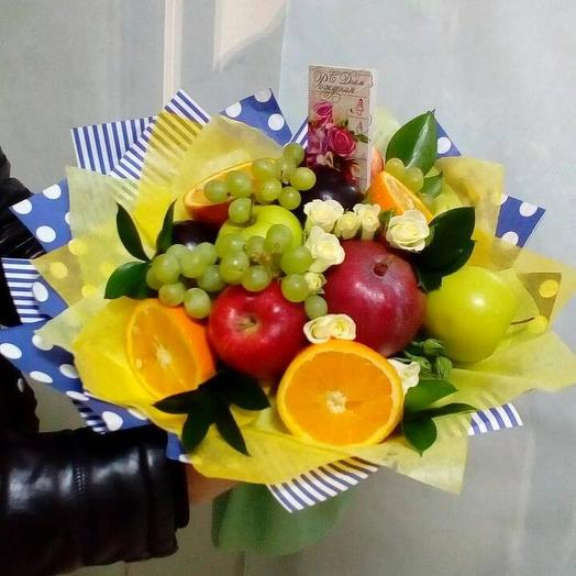 "Букет ""Тропик"": букеты цветов на заказ Flowwow"