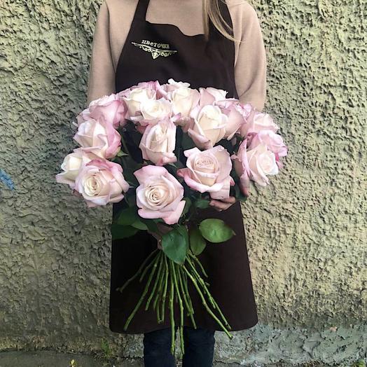 """Букет из роз """" Романтика """""""
