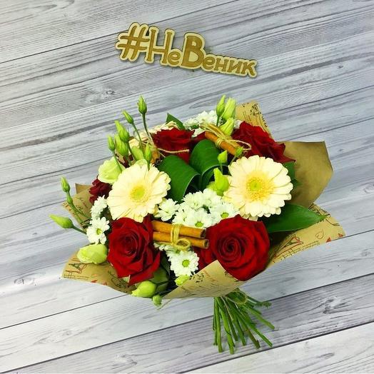 Уютный вечер: букеты цветов на заказ Flowwow