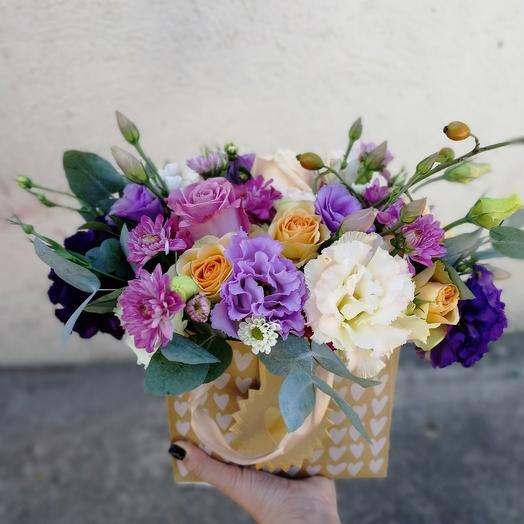 Виолетта: букеты цветов на заказ Flowwow