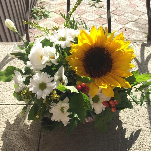 Солнце в облаках: букеты цветов на заказ Flowwow