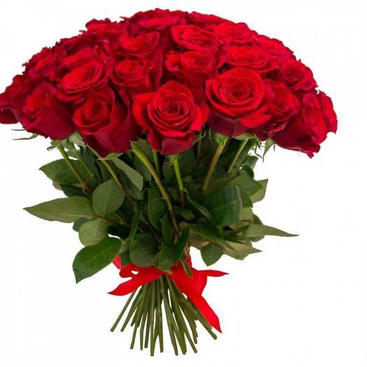 Букет 51 роза 70 см: букеты цветов на заказ Flowwow
