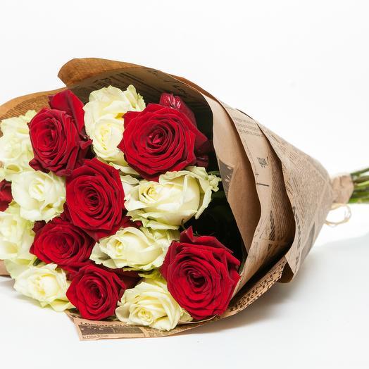 Букет  067: букеты цветов на заказ Flowwow
