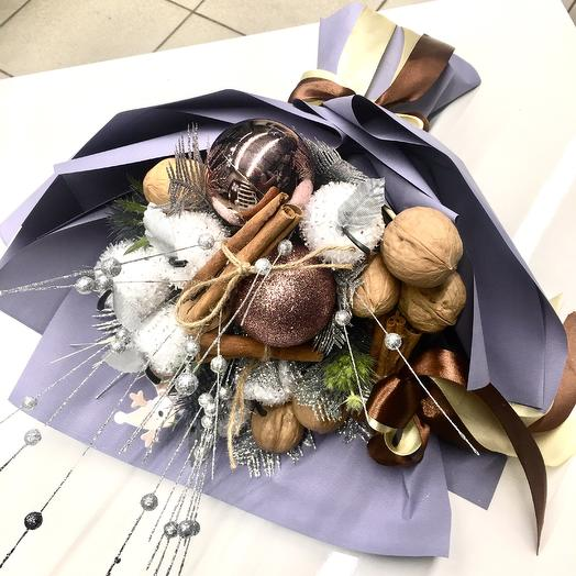 Зимний букет: букеты цветов на заказ Flowwow