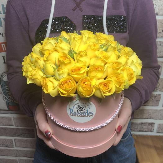 Коробка Sunday: букеты цветов на заказ Flowwow