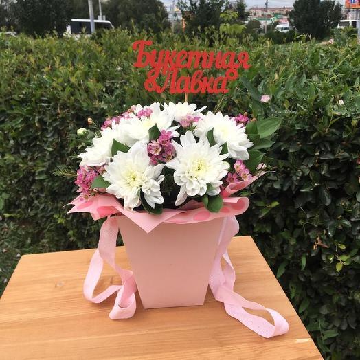 Коробочка нежность: букеты цветов на заказ Flowwow