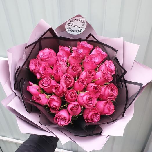 29роз каскадом: букеты цветов на заказ Flowwow