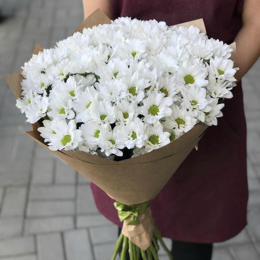 Букет из хризантем 30