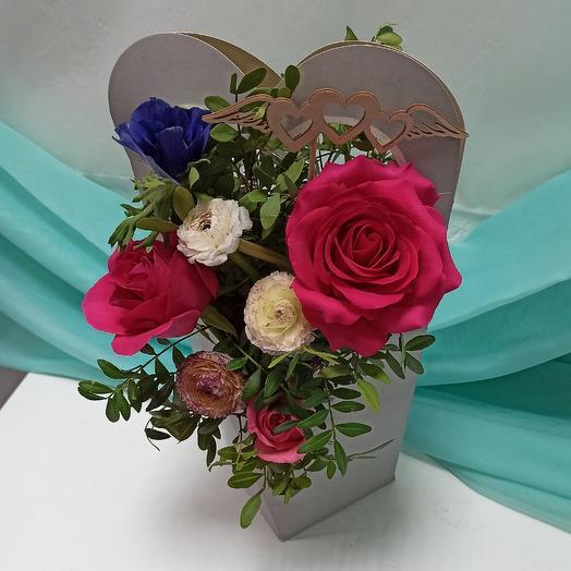 Зося + Подарок Топпер: букеты цветов на заказ Flowwow