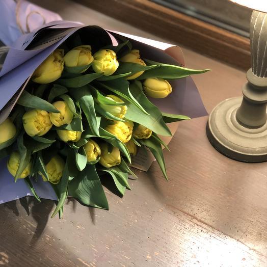 """Букет из Тюльпанов  """"Весеннее настроение """""""