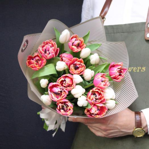 25 тюльпанов MIX Premium