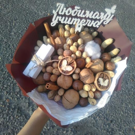 Ореховый букет с хлопком и корицей
