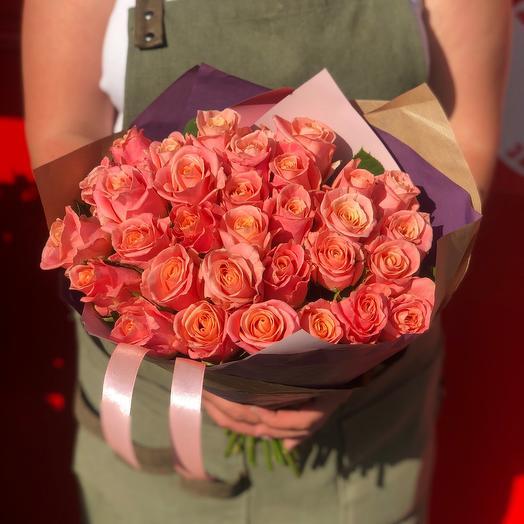 31 лососевая Роза