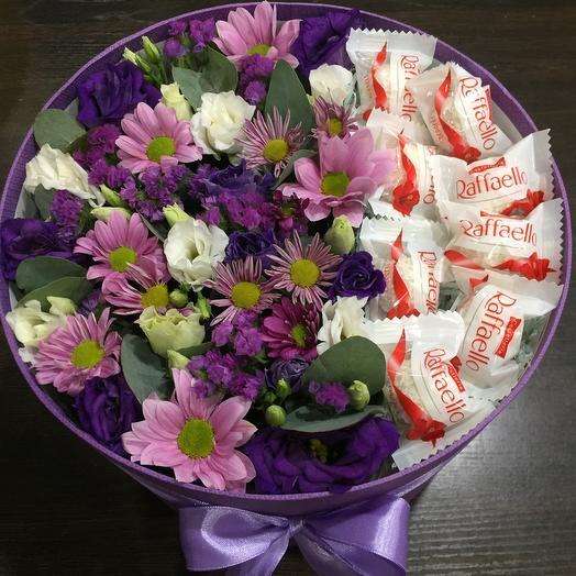 Цветы в коробке 00033