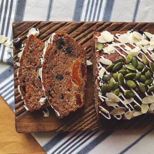 Морковный Кекс Sasha-Bread  450 гр