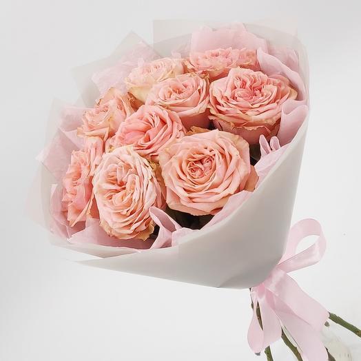 Нежное кружево: 9 пионовидных роз