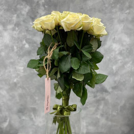 Букет «Snow Queen» из 25 белых роз