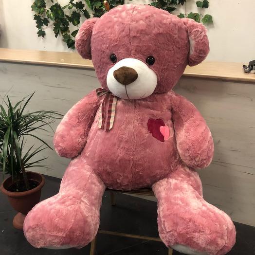 Миша 120 см розовый
