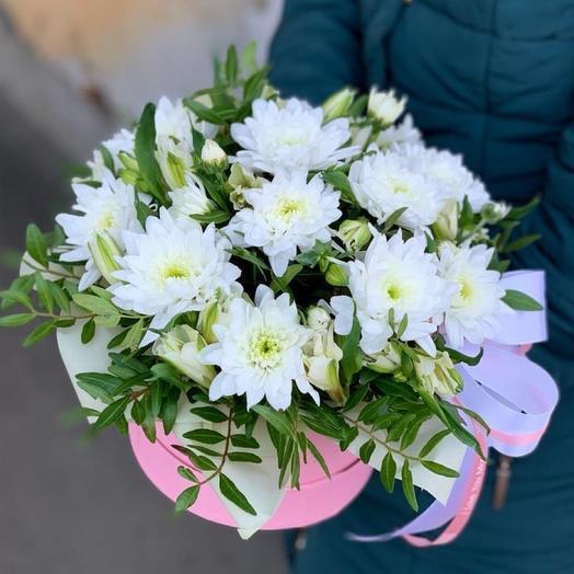 Композиция «прекрасная хризантема»