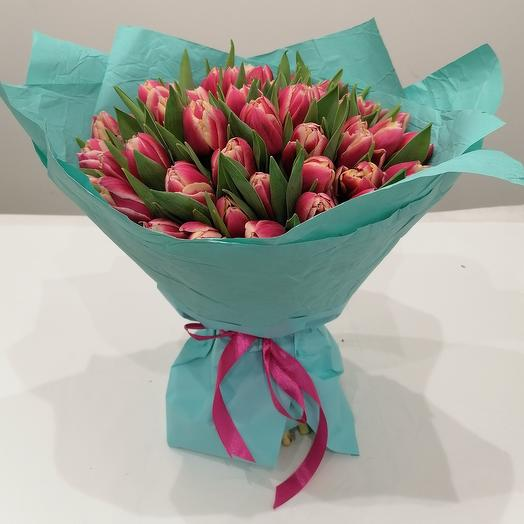 Охапка ароматных пионовидных тюльпанов 🥰