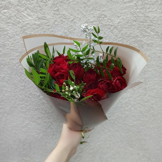 Букет-комплимент с розами