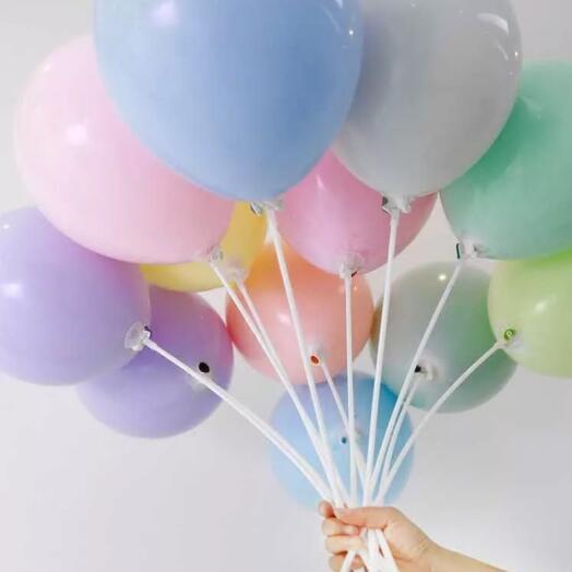 Набор из 11 шариков на палочках
