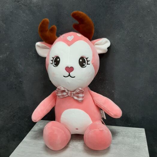 Розовый оленёнок