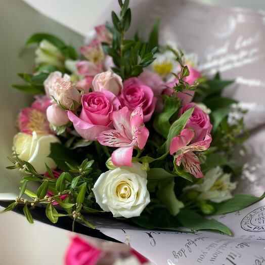 Букет «Цветочное озарение»