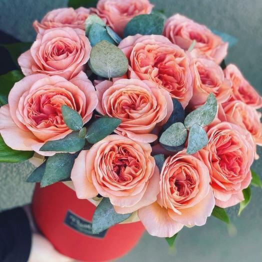 Цветы в коробке Лондон Ай
