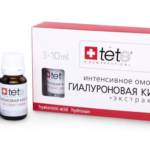 Гиалуроновая кислота + Экстракт икры /TETe Hyaluronic acid   Caviar Extract 3*10 ml