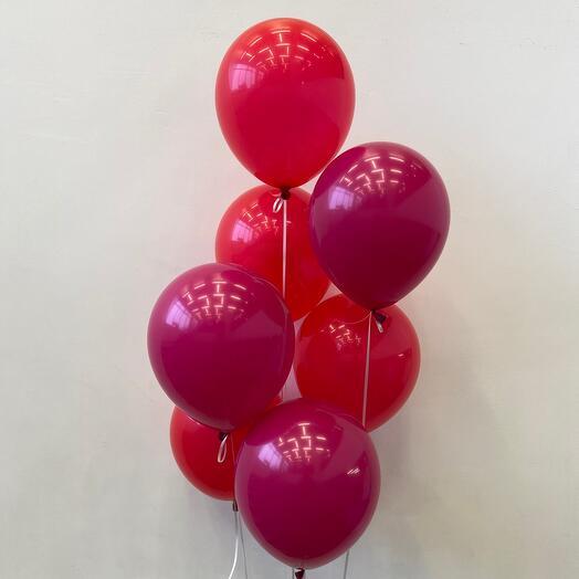 7 Красно-Мальновых шаров