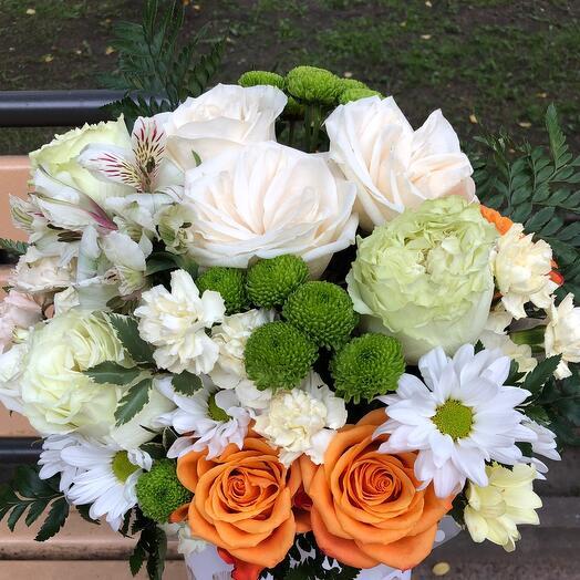 Большая коробка с цветами 💓
