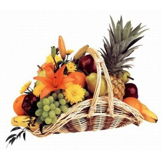 005 Корзина фруктов: букеты цветов на заказ Flowwow