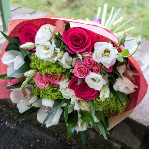 Нежный легкий букет: букеты цветов на заказ Flowwow