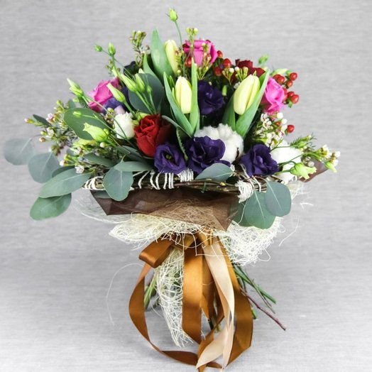 Букет ''УЛИЦЫ ЛЕУВАРДЕНА'': букеты цветов на заказ Flowwow
