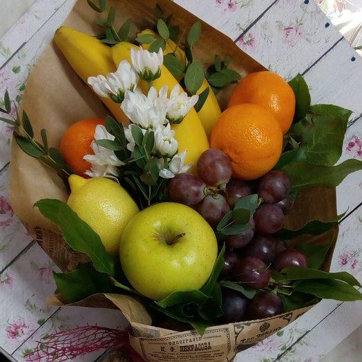 Каскад фруктов: букеты цветов на заказ Flowwow
