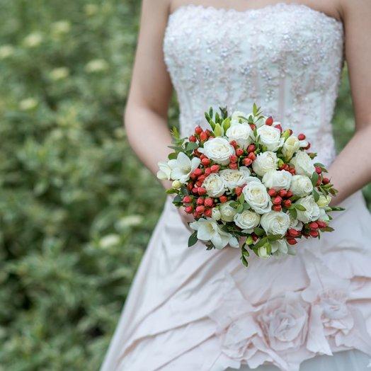 Свадебный букет  11: букеты цветов на заказ Flowwow