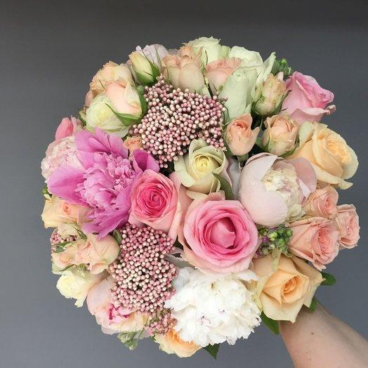 Романтичный букет: букеты цветов на заказ Flowwow