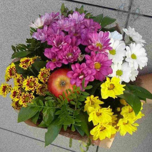 В яблочко: букеты цветов на заказ Flowwow