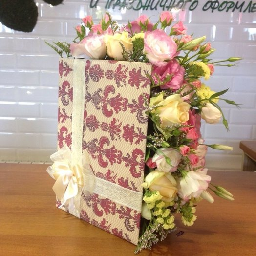 Букет- книга: букеты цветов на заказ Flowwow